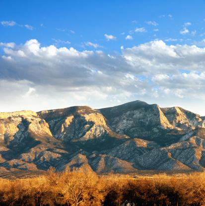 Sandia Mountains「Southwestern Landscape with Sandia Mountains」:スマホ壁紙(9)