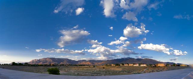 Sandia Mountains「Southwestern Landscape with Sandia Mountains」:スマホ壁紙(13)