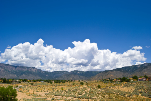Sandia Mountains「Southwestern Landscape with Sandia Mountains」:スマホ壁紙(17)