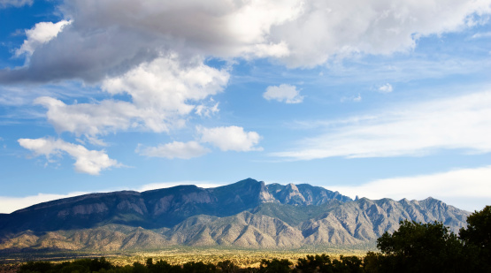 Mountain View - Arkansas「Southwestern Landscape with Sandia Mountains」:スマホ壁紙(5)