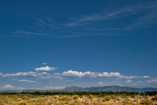Mountain View - Arkansas「Southwestern Landscape with Sandia Mountains」:スマホ壁紙(14)