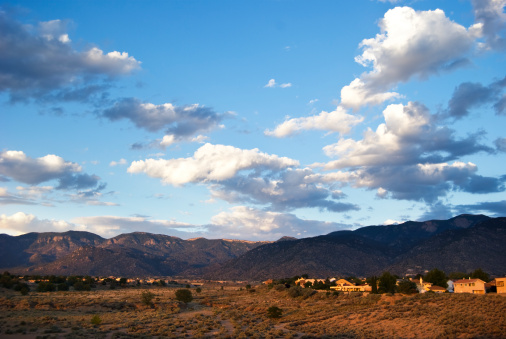 Sandia Mountains「Southwestern Landscape with Sandia Mountains」:スマホ壁紙(18)