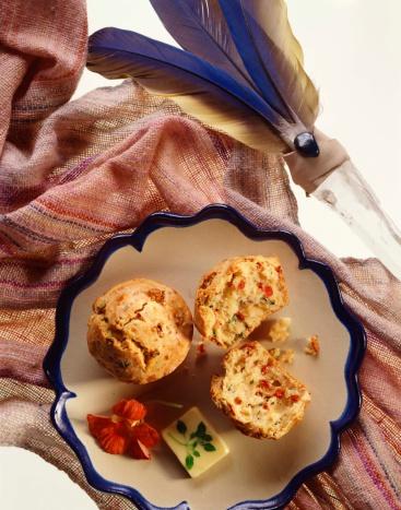 Herb Sauce「Southwestern muffins with herb butter」:スマホ壁紙(15)