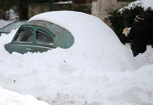 2016 Winter Storm Jonas「Washington, D.C. Area Continues To Dig Out From Historic Snow Storm」:写真・画像(4)[壁紙.com]