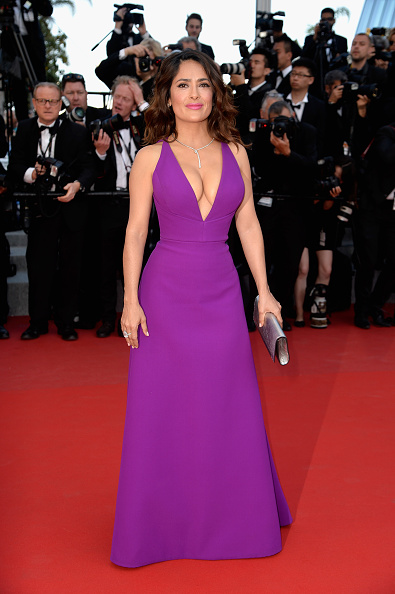"Salma Hayek「""Rocco And His Brothers"" Premiere - The 68th Annual Cannes Film Festival」:写真・画像(14)[壁紙.com]"