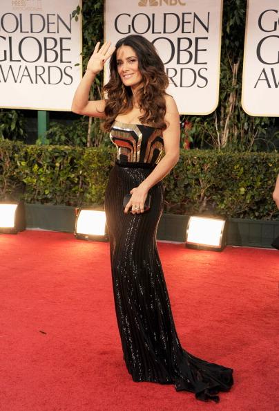 Strapless Evening Gown「69th Annual Golden Globe Awards - Arrivals」:写真・画像(2)[壁紙.com]