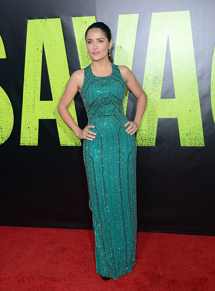 """Sleeveless Dress「Premiere Of Universal Pictures' """"Savages"""" - Arrivals」:写真・画像(2)[壁紙.com]"""
