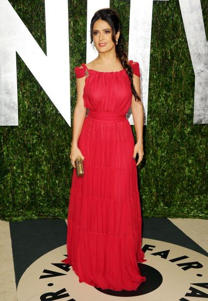 Gold Purse「2012 Vanity Fair Oscar Party Hosted By Graydon Carter - Arrivals」:写真・画像(15)[壁紙.com]