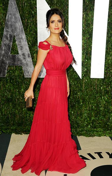 Gold Purse「2012 Vanity Fair Oscar Party Hosted By Graydon Carter - Arrivals」:写真・画像(1)[壁紙.com]