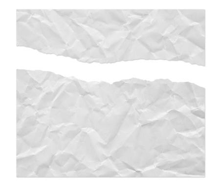 Document「Ragged Wrinkled White Paper」:スマホ壁紙(1)