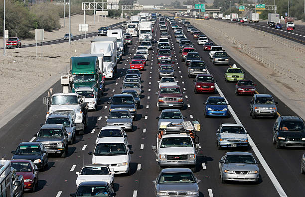 Phoenix Commuters Major Traffic Congestion:ニュース(壁紙.com)