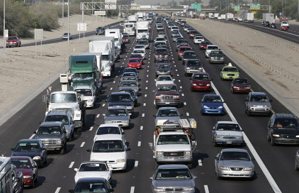 運転手「Phoenix Commuters Major Traffic Congestion」:写真・画像(9)[壁紙.com]