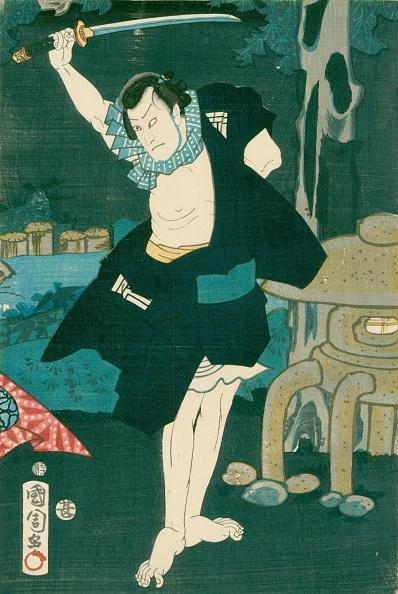 戦国武将「Samurai Warrior. Japanese painting on silk, in a traditional Japanese style.」:写真・画像(15)[壁紙.com]