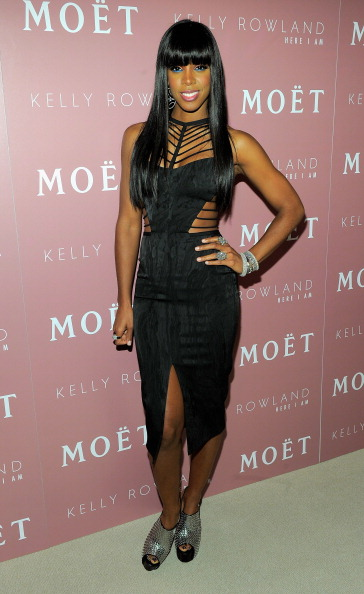 """Mid Calf Length「Moet Rose Lounge And Kelly Rowland Celebrate The Launch Of Her New Album """"Here I Am""""」:写真・画像(11)[壁紙.com]"""