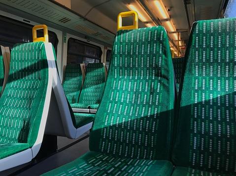 Train Interior「Train seats」:スマホ壁紙(19)