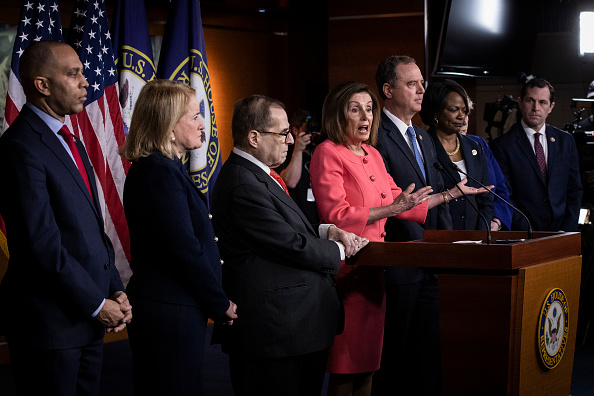 Manager「Speaker Pelosi Announces Impeachment Managers, Signs And Transmits Articles To Senate For Trial」:写真・画像(2)[壁紙.com]