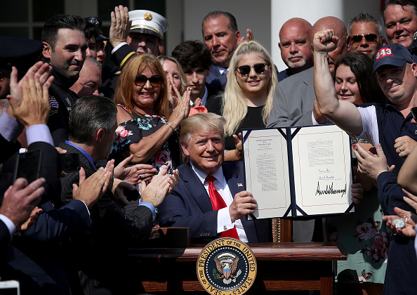 Making Money「President Trump Signs September 11th Victim Compensation Fund Act」:写真・画像(9)[壁紙.com]