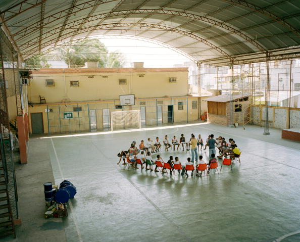 10-11 Years「Brazil, Rio de Janeiro, Leblon district, children at community centre」:写真・画像(15)[壁紙.com]