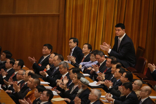 Yao Ming「Opening Ceremony Of The Chinese People's Political Consultative Conference」:写真・画像(3)[壁紙.com]