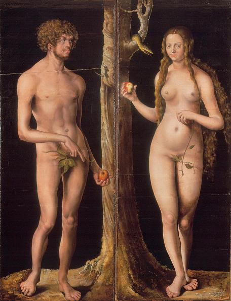 Painted Image「Adam And Eve」:写真・画像(1)[壁紙.com]