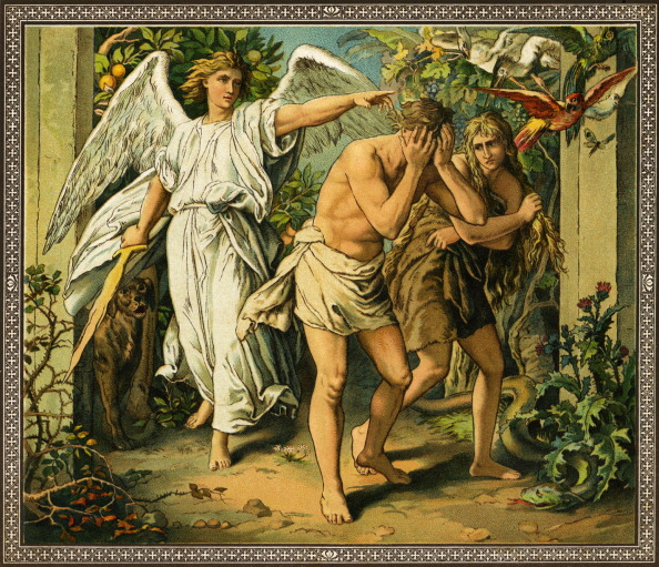 Garden Of Eden - Old Testament「Adam and Eve cast out of Paradise -」:写真・画像(2)[壁紙.com]