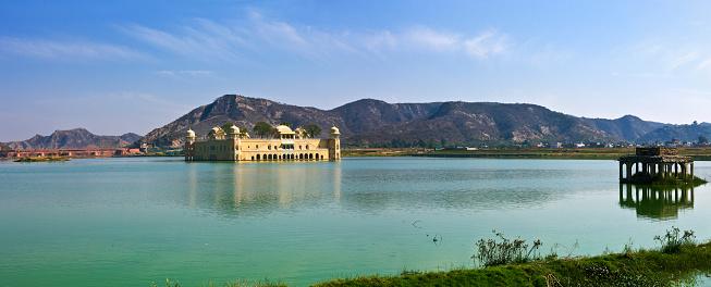 Rajasthan「The Jal Mahal and the Man Sagar lake」:スマホ壁紙(11)