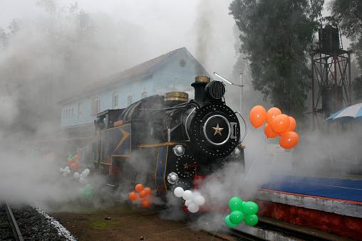 SL「Old  steam engine」:スマホ壁紙(5)