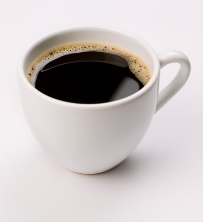 Coffee Cup「espresso  coffee on white」:スマホ壁紙(11)
