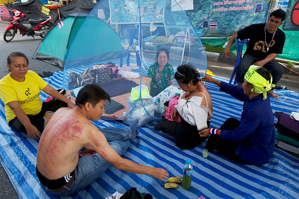 Recreational Pursuit「Anti Government Protests Resume In Thailand Following Kings Birthday」:写真・画像(15)[壁紙.com]