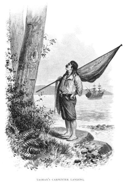 Arafura Sea「'Tasman's Carpenter Landing', 1644 (1886).」:写真・画像(2)[壁紙.com]