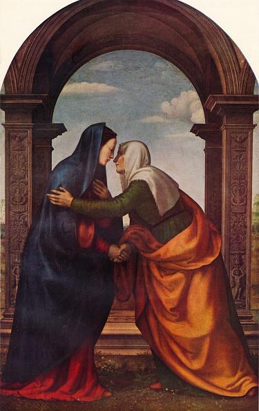 Holding Hands「The Visitation, 1503, (1938). Artist: Mariotto di Bigio di Bindo Albertinelli」:写真・画像(10)[壁紙.com]