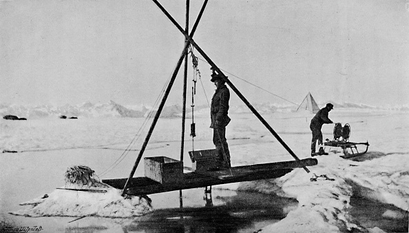 Thermometer「'Deep-Water Temperature. Up with the Thermometer. 12 July, 1894', 1894」:写真・画像(19)[壁紙.com]