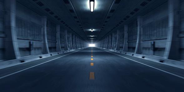 Blurred Motion「Road Tunnel」:スマホ壁紙(9)