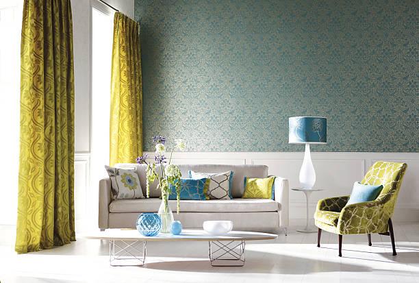 Home Interior of a contemporary living room with furniture:スマホ壁紙(壁紙.com)