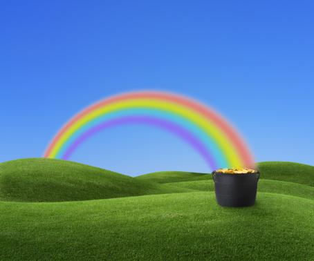 虹「金の鍋」:スマホ壁紙(7)