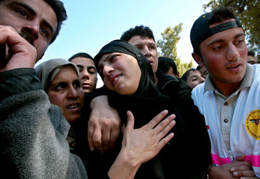 West Bank「Funeral for Palestinians Killed in Ramallah」:写真・画像(3)[壁紙.com]