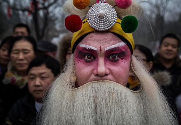 Facial Hair「People Celebrate the Spring Festival in China」:写真・画像(17)[壁紙.com]