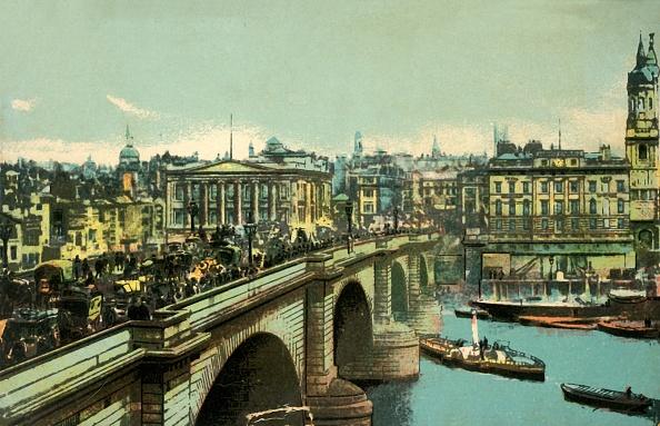Hand Colored「London Bridge」:写真・画像(17)[壁紙.com]