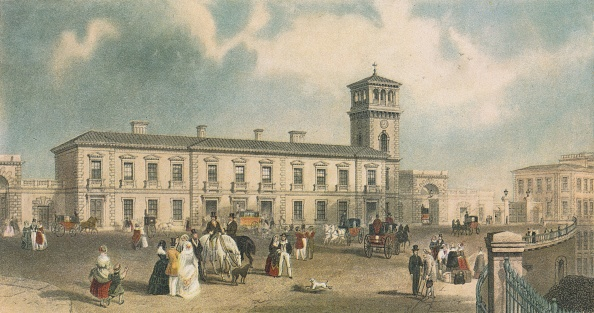 1840-1849「London Bridge Station Bermondsey London 1845」:写真・画像(8)[壁紙.com]