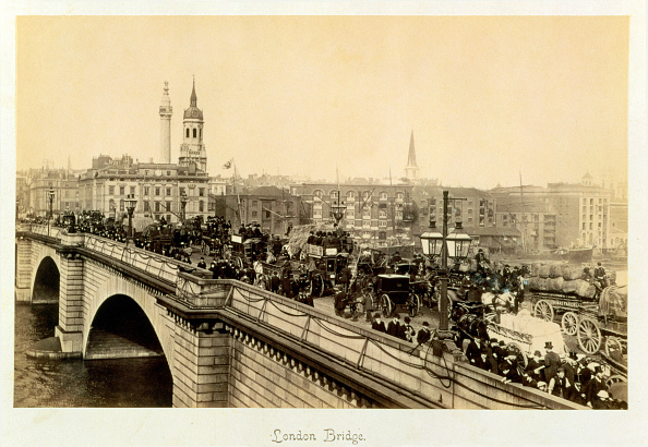 Bus「London Bridge circa 1880」:写真・画像(16)[壁紙.com]