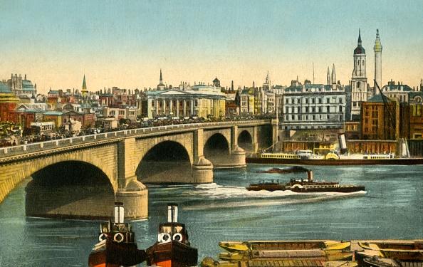 Hand Colored「London Bridge」:写真・画像(4)[壁紙.com]