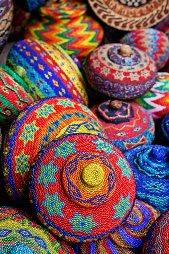 インドネシア「Traditional colorful baskets,Bali」:スマホ壁紙(4)