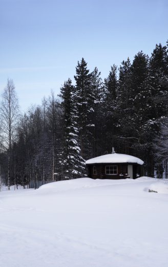 Finland「A traditional Finnish log-cabing style sauna. 」:スマホ壁紙(16)