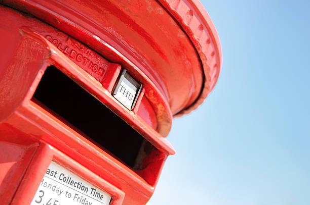 Traditional British Postbox:スマホ壁紙(壁紙.com)