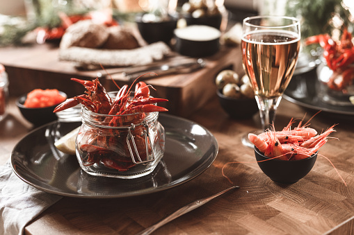 Party - Social Event「Traditional Swedish ready to eat crayfish dinner」:スマホ壁紙(11)