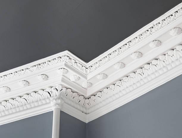 Traditional Ceiling Cornice Moulding:スマホ壁紙(壁紙.com)