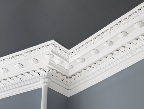 Wall - Building Feature「Traditional Ceiling Cornice Moulding」:スマホ壁紙(16)