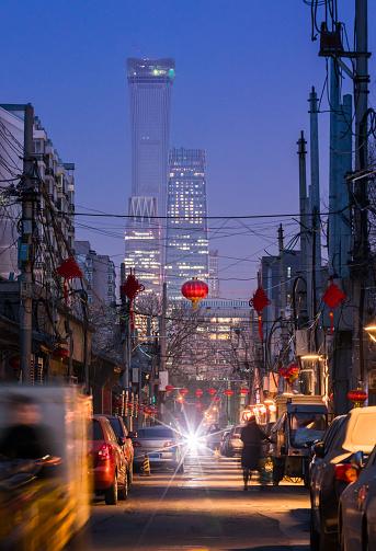 Beijing「Traditional and modern contrast」:スマホ壁紙(9)