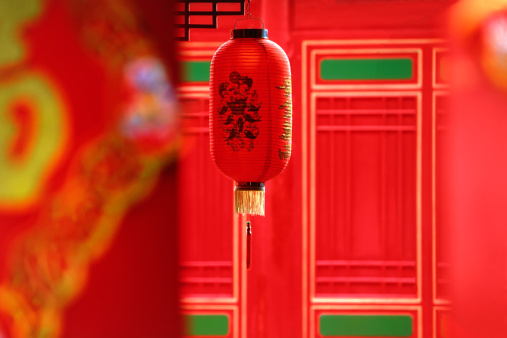 Chinese Lantern「Traditional Red Chinese lantern, Beijing, China」:スマホ壁紙(7)