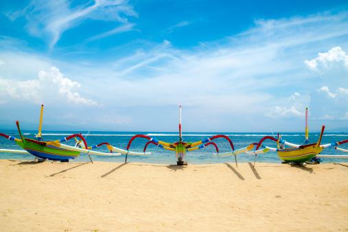 バリ島「Traditional Boats, Sanur Beach, Sanur, Bali」:スマホ壁紙(17)